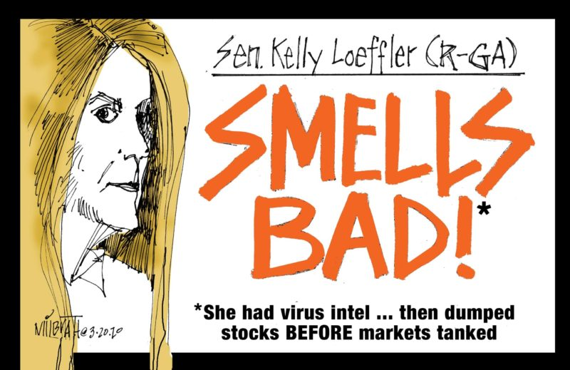 Kakistocrat Kelly Loeffler's Campaign of Hate and Fear