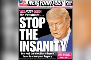 'Rupert Has Had Enough': NY Post's Stunning Front Page Condemnation of Trump Sends Shockwaves