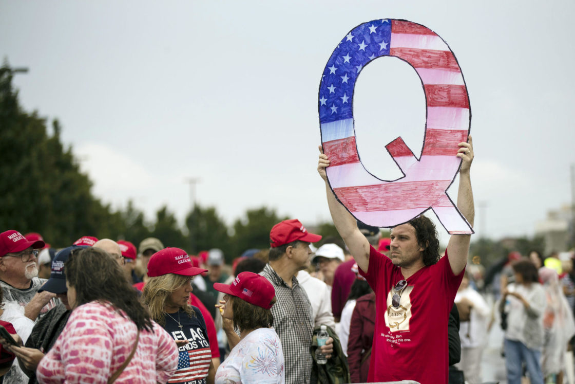 Even If It's 'Bonkers,' Poll Finds Many Believe QAnon And Other Conspiracy Theories