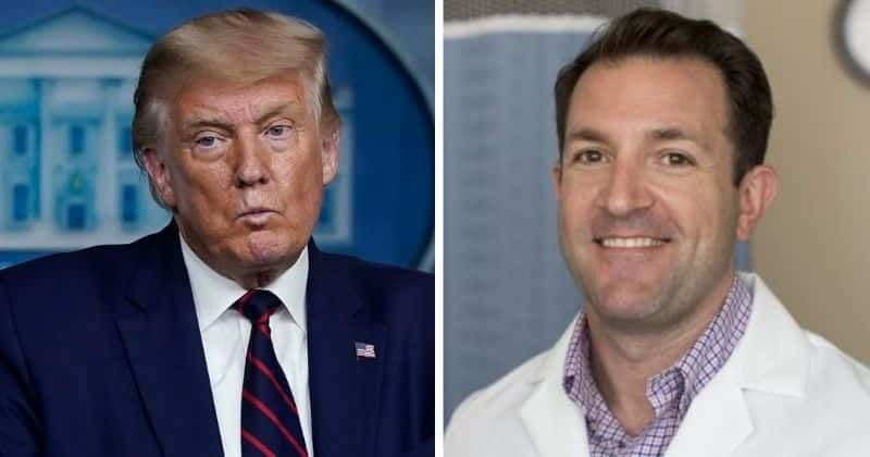 Doctor dismissed for speaking out over Trump's Covid drive-by stunt says 'I regret nothing'