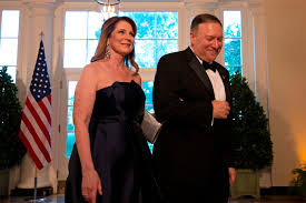 A Few Dozen Show for Mike Pompeo's Christmas Party