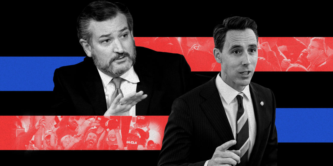 Op-Ed: I taught Sens. Josh Hawley and Ted Cruz in law school. Clearly they didn't pay attention