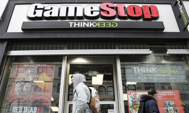 What is going on with Gamestop's shares?