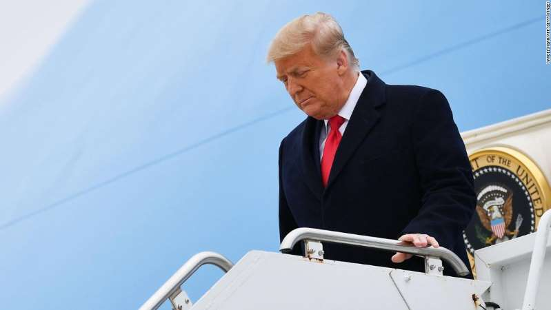Trump leaves America at its most divided since Civil War