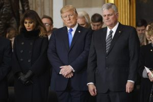 Thousands sign petition to fire Franklin Graham for backing 'Trump's deadly presidency'