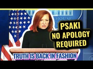 Live:  Jen Psaki's Press Briefing