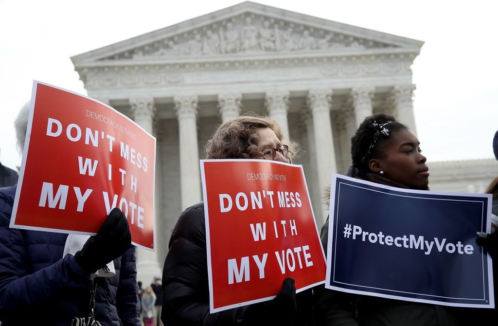 The battle for voting access; Republicans try to restrict rights, Democrats try to expand.
