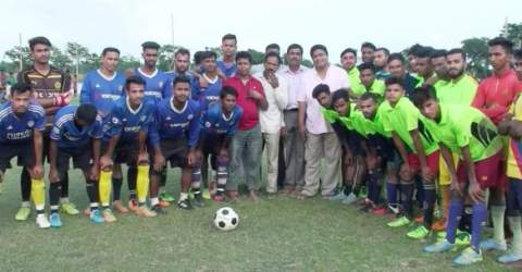 সুনামগঞ্জের সাদকপুর উচারগাঁও ফ্রেন্ডসমেচ ফুটবল টুর্নামেন্ট অনুষ্ঠিত