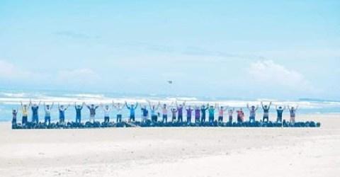 সমুদ্র সৈকত হতে ২.৫ টন বর্জ্য পরিষ্কার করলো টিম কক্সবাজার'র স্বেচ্ছাসেবীরা