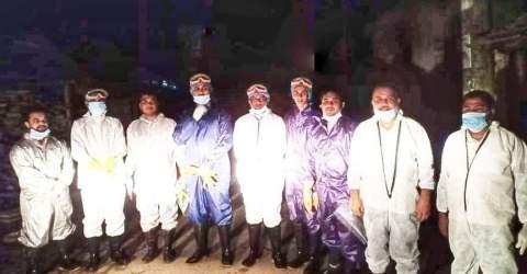 সবুজ বাংলাদেশ ইনাফার করোনা মৃত্যু ১৬তম লাশ দাফন সম্পন্ন