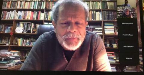 'পরিবর্তনশীল বিশ্বে দক্ষিণ এশিয়া ' শীর্ষক আলোচনা  কুবির ২২ তম ওয়েবনারে