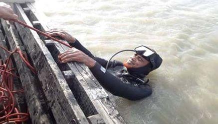 গাইবান্ধার হরিপুরে ত্রাণ দিতে গিয়ে কামারজানির ব্রহ্মপুত্র নদীতে বোরহান নামে এক যুবক নিখোজ