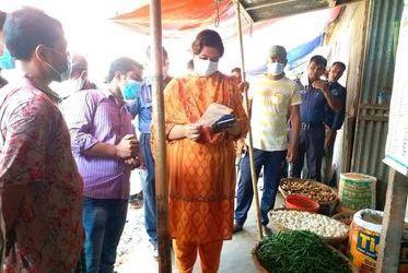 নাগরপুরে সবজির মূল্য স্থিতিশীল, কাঁচাবাজার পরিদর্শন শেষে ইউএনও