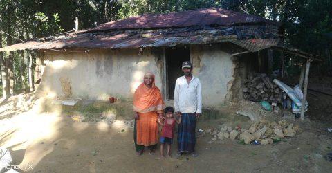 লোহাগাড়া কলাউজানের হতদরিদ্র জামালের পরিবারের প্রয়োজন একটি ঘর