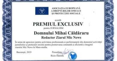 BREAKING NEWS: Fostul Președinte al Asociației Mic News Mihai Căldăraru, propus pentru funcția de Director General Direcția Generală de Asistență socială și Protecția Copilului România din cadru AEDOPS.
