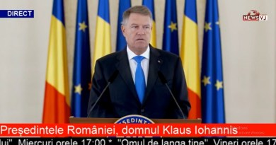 Președintele României, domnul Klaus Iohannis / VIDEO