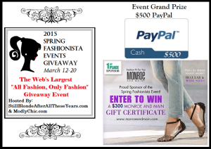 Spring Fashionista Event 2015 - Grand Prize