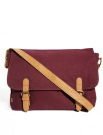 burgundy satchel