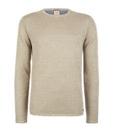 camel boss linen sweater