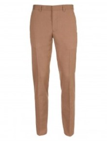camel topman skinny cut trousers