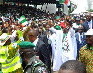 GEJ at PDP Convention