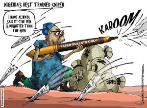 Naija best trained snipper, Credit: Twitter