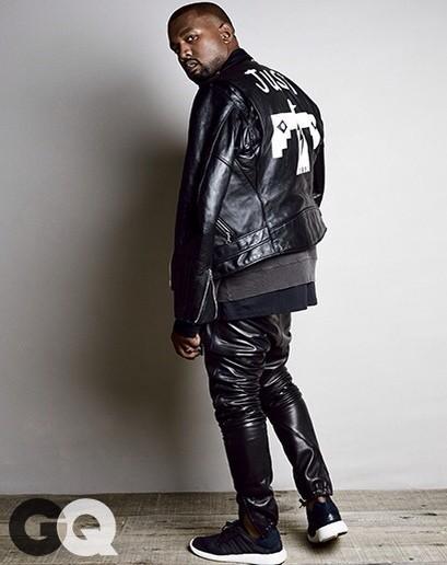 Kanye GQ