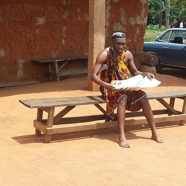 Timi Dakolo on Iyawo Mi set