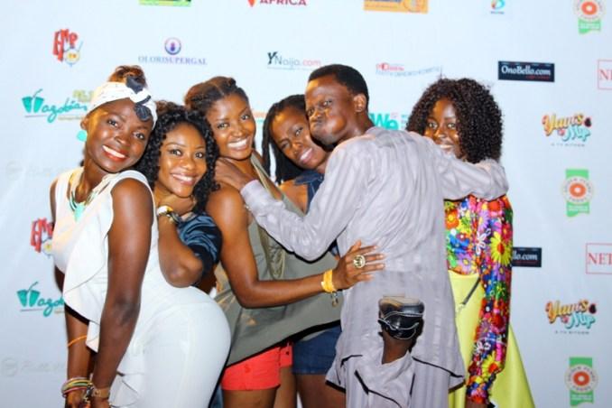Bunmi Davies and the standup Nigeria Ladies