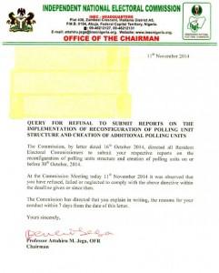 INEC Letter