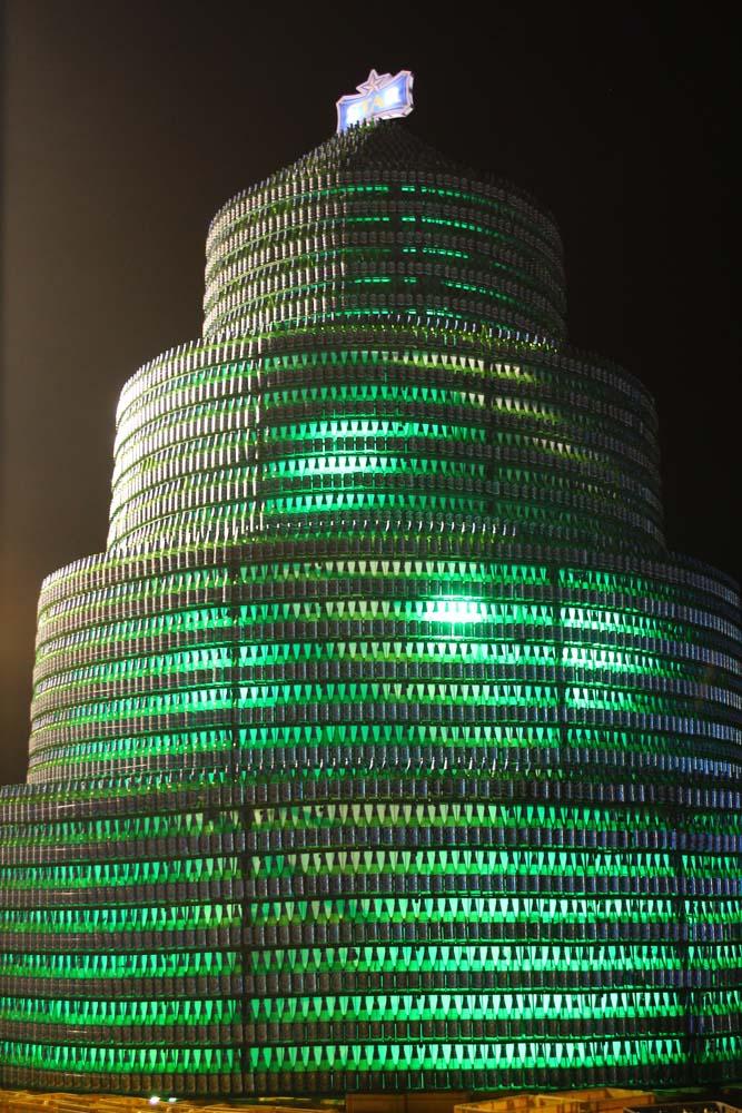 1. Star Bottle Tree (Night Photo)