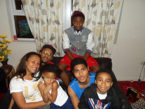 Ibinabo and her kids