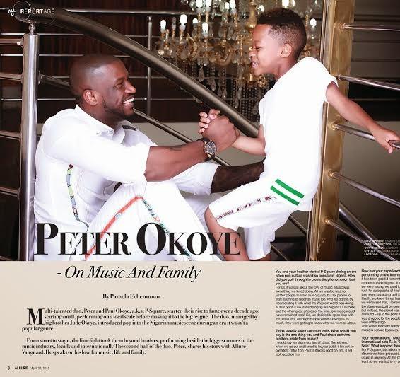 Peter Okoye Allure 2