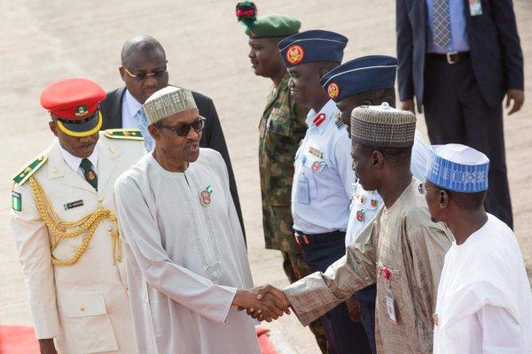 Buhari Departs To JB 1