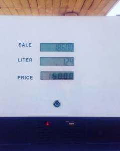 Fuel prices on the rise at local filling station in Zaria Nigeria