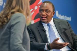 Kenya Kenyatta Nnamdi Kanu arrest