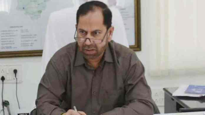 warangal collector suspend