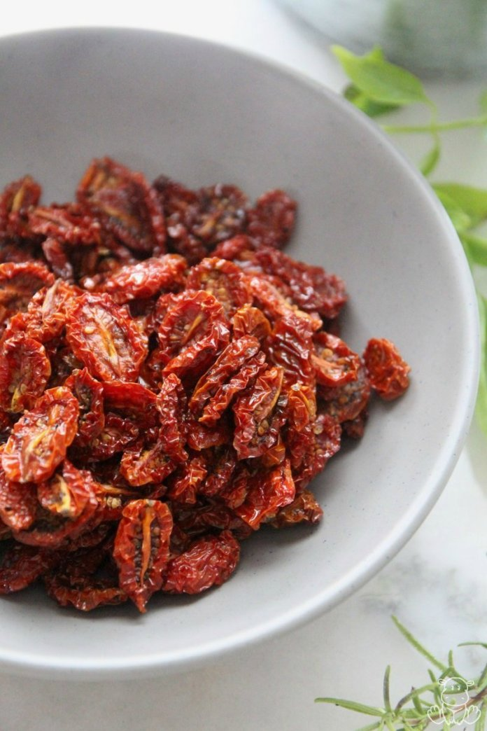 how to make oven dried tomatoes