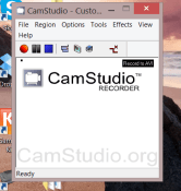 CamStudio - A tool to record desktop activity with sound