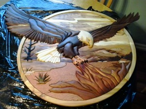 carving eagle