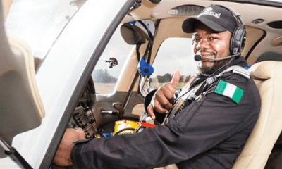 Flying 9 months round the world taught me never to give up – Captain Odujinrin