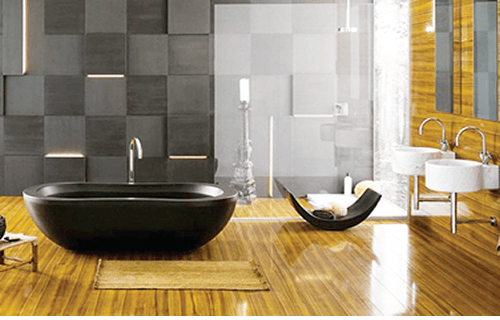 Add up-to-date design to your bathroom space