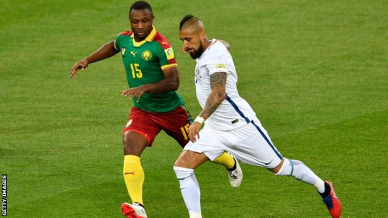 Confed Cup: Video referees are 'the future' says Cameroon's Siani