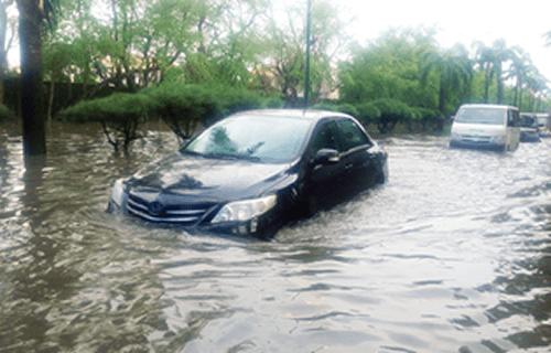 RAGE OF NATURE: A WAILING NATION AT THE THROES OF FLOODS