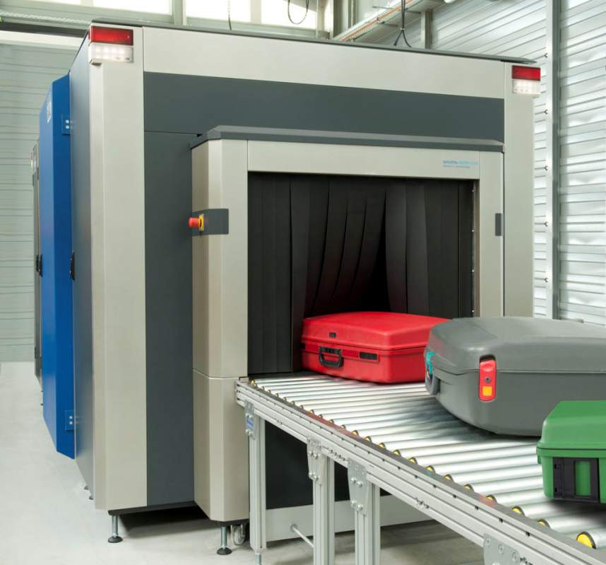 Airport Baggage Handling Scan : Faan test run upgraded safety scanner at lagos airport