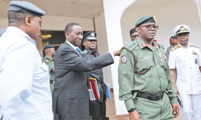Security: President gives matching orders to Service Chiefs