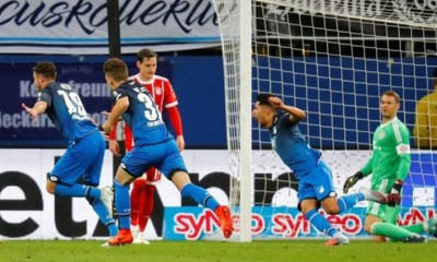 Bundesliga: Bayern crash to shock defeat at Hoffenheim