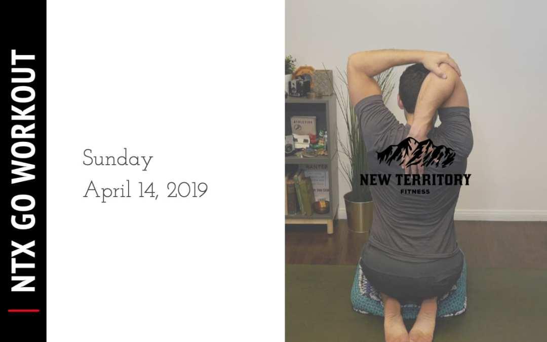 NTX Go // Sunday 04-14