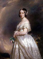 Queen_Victoria IN HER WEDDING DRESS BY wINTERHALTER,1842