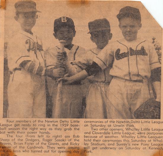 Newton Delta Baseball Little League
